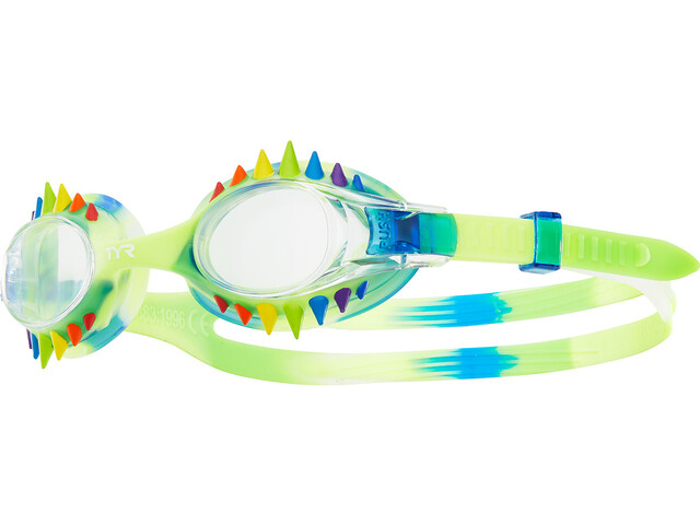 TYR Swimple Spikes Tie Dye Goggles Kinder blue/clear